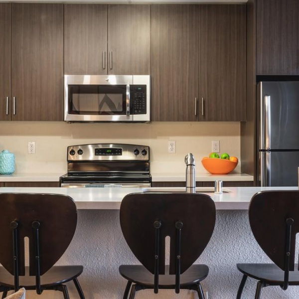 Our recently renovated apartments include Stainless steel appliances and much more!