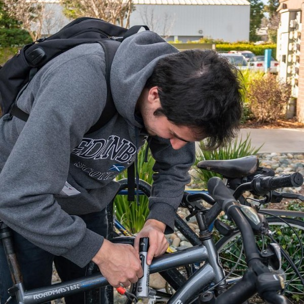 We know life in college can be hard! So we designed our amenities with your convenience in mind. There are several bike stations within the community that feature equipment to repair your bike for the days when bolts get loose or the tire pressure gets low.