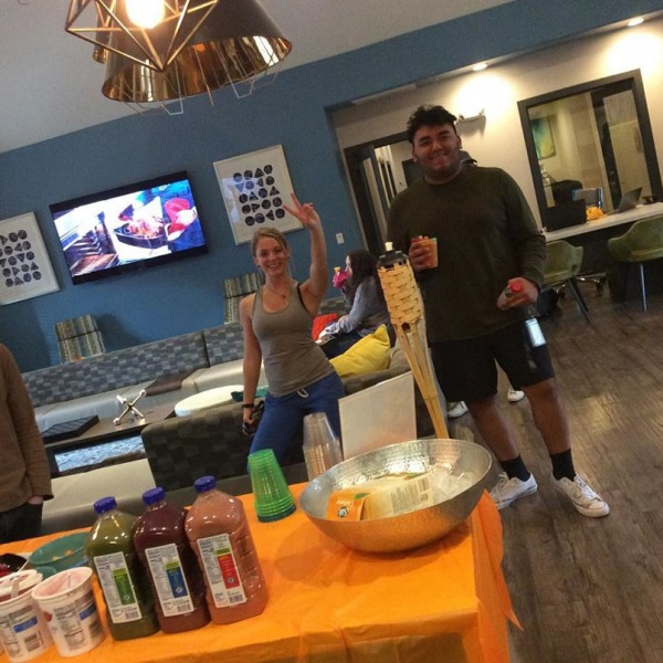 The smoothies were a success! Thank you to all the residents that showed up today! Comment what events you would like to see in the coming months!  #theu #theudavis #davisca #davis #daviscalifornia