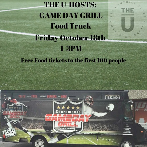 FOOD TRUCK FRIDAY IS BACK!  Come enjoy @gamedaygrill_  Free tickets to first 100 people that come!