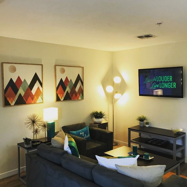 Living rooms that are ready to live in. All you have to do is sign up today!  #theuapartments #theu #furnished #davis #davisca #daviscalifornia #ucd #ucdavis #davisca